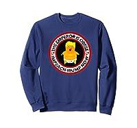 Deranged Donald The Emperor Is Obese Impeach Trump Now Premium T Shirt Sweatshirt Navy