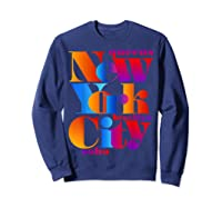New York City T Shirt Urban Nyc Fashion Style T Shirt Nyc T Shirt Sweatshirt Navy