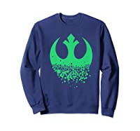 Star Wars Saint Patrick S Day Rebel Alliance Premium Ts Shirts Sweatshirt Navy