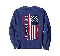 Anti Trump Impeach The 45th President T Shirt Sweatshirt Navy