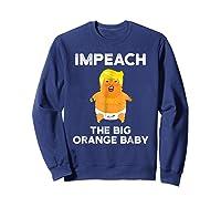 Trump Sucks Shirt Impeach Trump Shirt Sweatshirt Navy
