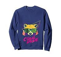 Cool Bear Fun Party Costume Cute Easy Animal Halloween Gift Shirts Sweatshirt Navy