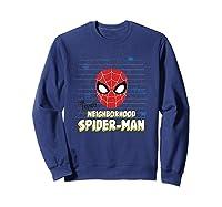 Spider Man Far From Home Friendly Neigrhood Shirts Sweatshirt Navy