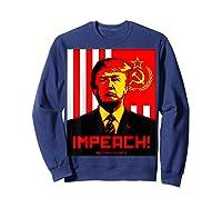 Trump Protest Resist Impeach Russia Propaganda Shirt Sweatshirt Navy
