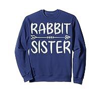 Cute Rabbit Sister Shirt I M Going To Be A Sister T Shirt Sweatshirt Navy