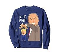 Putin S Puppet Donald Trump Anti Trump Impeach Trump Gift T Shirt Sweatshirt Navy