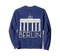 Berlin Shirt For Girls  Sweatshirt Navy