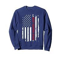 Best Grandma Ever T Shirt American Flag Mothers Day Gift Mom Sweatshirt Navy