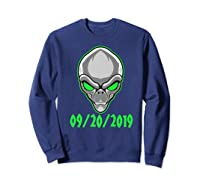 Storm Area 51 See Them Aliens Raid Ufo Cant Stop Us All Shirts Sweatshirt Navy