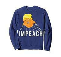 Donald Trump Baby Blimp Impeach T Shirt Sweatshirt Navy
