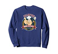 Champion Of Breakfast T Shirt Breakfast Of Champions Sweatshirt Navy