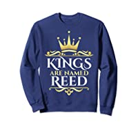 Kings Are Named Reed Shirts Sweatshirt Navy