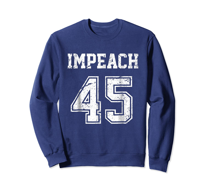 Impeach 45 Team Impeach Trump Vintage T Shirt Crewneck Sweater