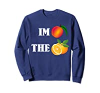 Impeach The Orange Not This President Anti 45th T Shirt Sweatshirt Navy