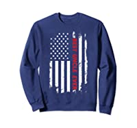 Best Uncle Ever T Shirt American Flag Fathers Day Gift  Sweatshirt Navy