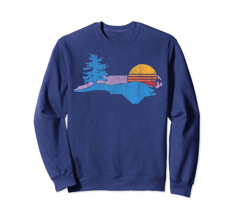 North Carolina Smokey Mountains Vintage Blue Ridge Shirts Crewneck Sweater