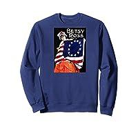 Vintage Independence Day B Boss Ross 4th Of July Baseball Shirts Sweatshirt Navy
