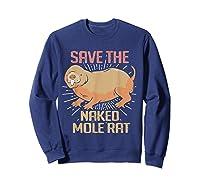 Naked Mole Ra Shirts Sweatshirt Navy