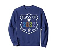 2019 Class Of 2032 Grow With Graduation First Day Of School Shirts Sweatshirt Navy