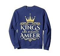 Kings Are Named Ameer T-shirt Sweatshirt Navy