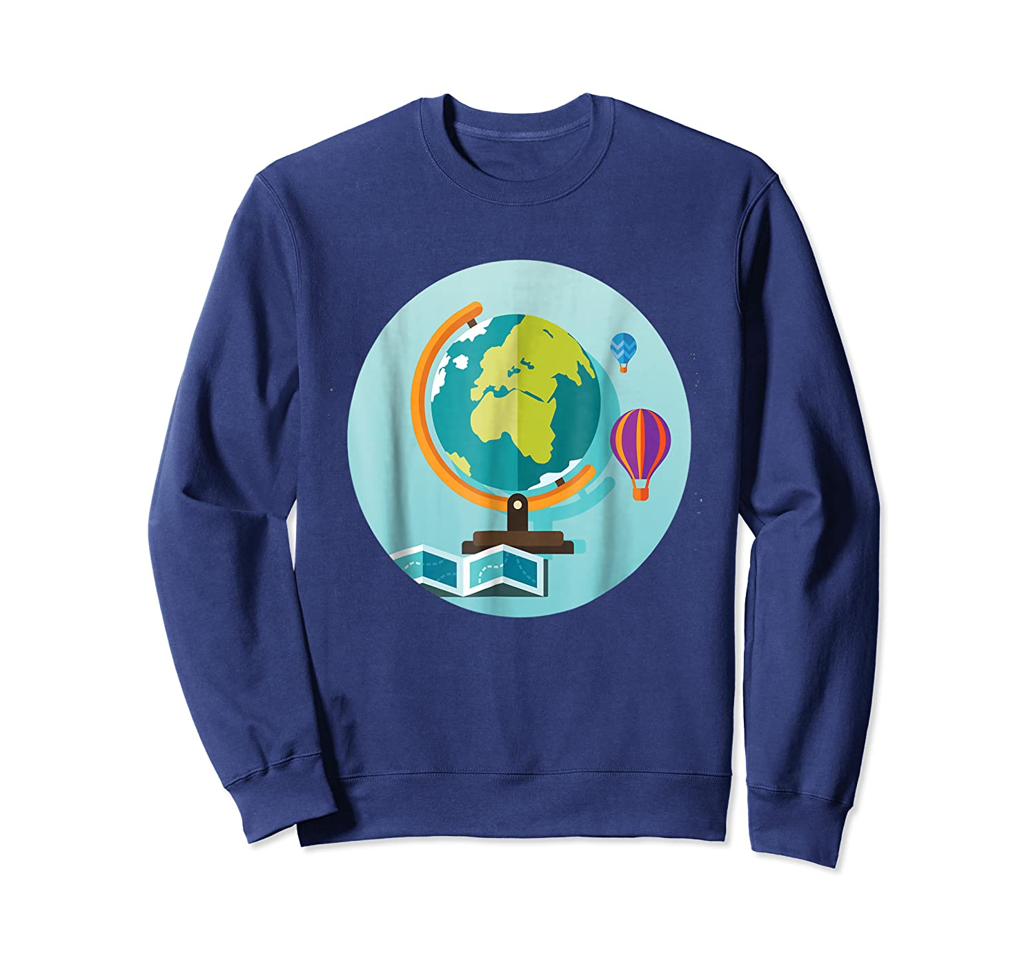 Science Design 4 Geography Travel T Shirt Crewneck Sweater
