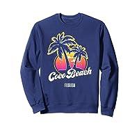 Coco Beach Florida City Native S Gift Shirts Sweatshirt Navy