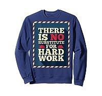 Happy Labor Day Hard Worker Cool Employee Gift Back Print T-shirt Sweatshirt Navy