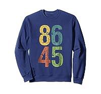 8645 T Shirt Impeach Trump Sweatshirt Navy
