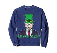 Bernie Sanders 2020 T Shirt St Patricks Day Irish Leprechaun Sweatshirt Navy