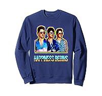 Happiness Begins Tour Music T Shirt Cool Jonas Shirt T Shirt Sweatshirt Navy