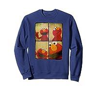 Sesame Street Photo Booth Elmo Shirts Sweatshirt Navy