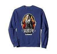 The Walking Dead Queen Carol T-shirt Sweatshirt Navy