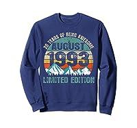 Born August 26 Limited Edition Bday Gift 26th Birthday Shirts Sweatshirt Navy