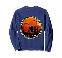 Friends Horror Scary Halloween T Shirt For  Sweatshirt Navy