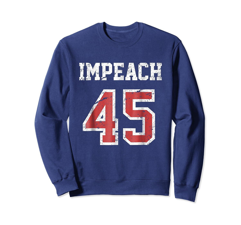 Impeach 45 T Shirt Team Impeach Trump Vintage Crewneck Sweater