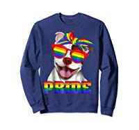 Pit Bull Pride- Gay Pride Shirt 2018 T-shirt For  Sweatshirt Navy