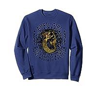 April Girl The Soul Of A Mermaid Tshirt Funny Gifts Premium T Shirt Sweatshirt Navy