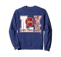 Yadier Molina Love Block T-shirt - Apparel Sweatshirt Navy