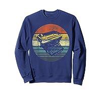 Writer Author Gifts Funny Retro Typewriter Writing T Shirt Sweatshirt Navy
