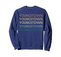 Stown Ohio Pride Vintage State Retro 70s Ohio Shirts Sweatshirt Navy