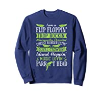 Parrot Shirt - Parrot Head Tshirts Sweatshirt Navy