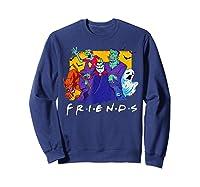 Friends Halloween Horror T Shirt Sweatshirt Navy