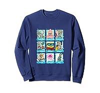 The Look Of Spongebob Characters Shirts Sweatshirt Navy