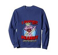 Peanut Airway Heights Wa T Shirt Sweatshirt Navy