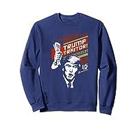 Soviet Vintage 86 45 Impeach Trump Traitor Premium T Shirt Sweatshirt Navy