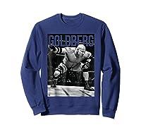 Bill Goldberg Iconic Graphic Shirts Sweatshirt Navy