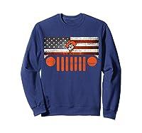 Oklahoma State Cow Nation Flag Apparel T Shirt Sweatshirt Navy