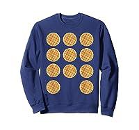 Eleven 11 Waffles T Shirt Tee Sweatshirt Navy