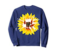 Share Love With Sunflower For And Shirts Sweatshirt Navy
