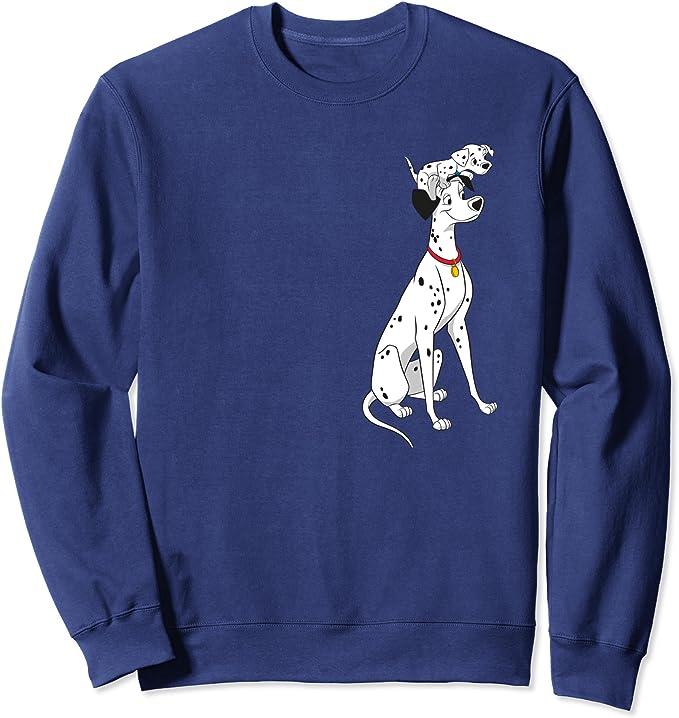 Disney Womens 101 Dalmatians Family Sweatshirt